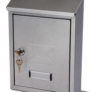 G2 The Postbox Specialists Brievenbus Avon - zilvergrijs