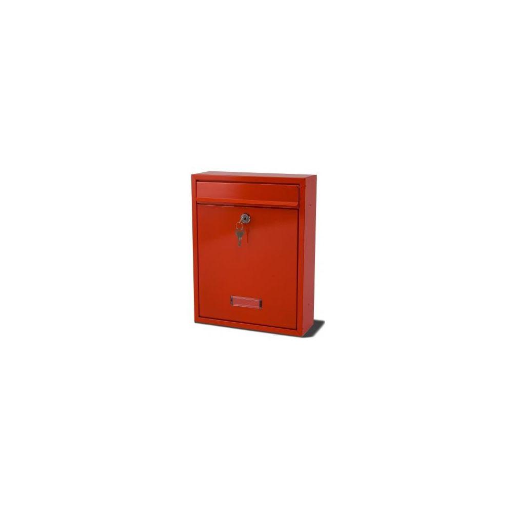 Brievenbus Trent - rood