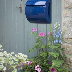 Burg-Wächter Piano kunststof brievenbus - marineblauw