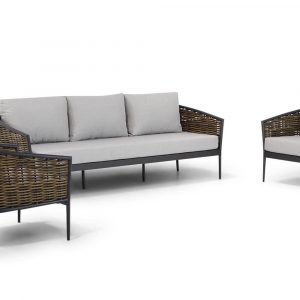 Coco Palm stoel - bank loungeset 3-delig