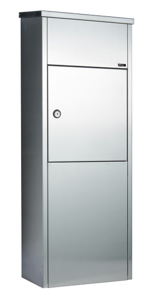 Pakketbrievenbus Allux 600 RVS